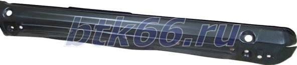 Боковые защитные пороги с защитой переднего крыла arb deluxe для mitsubishi l200 (06-15)