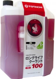Антифриз Totachi Long Life Coolant Red 100% концентрат 4L